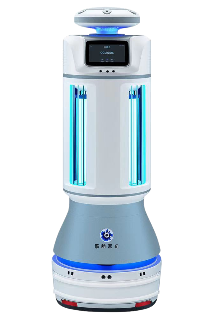 Desinfektionsroboter Keenon Disinfection Robot M2 freigestellt
